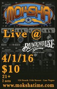 2016.04.01 Bunkhouse Saloon - Las Vegas NV